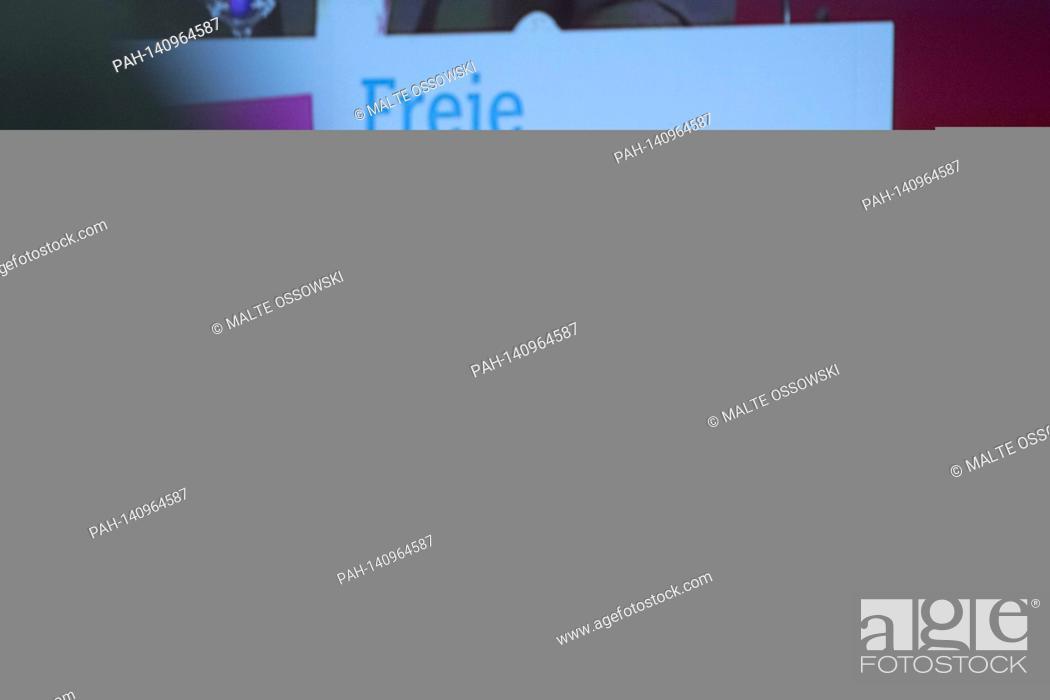 Photo de stock: Dr. Joachim STAMP, FDP, Landesvorsitzender der FDP NRW, Minister fuer Kinder, Familie, Fluechtlinge und Integration des Landes.