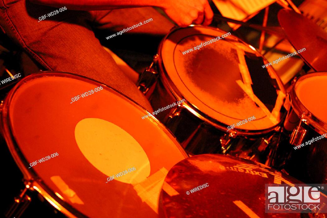 Stock Photo: Music, drum.