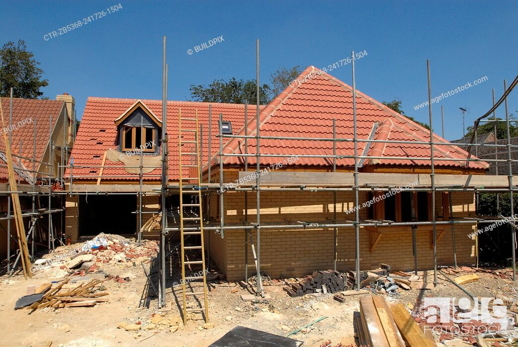Imagen: Construction of new house.