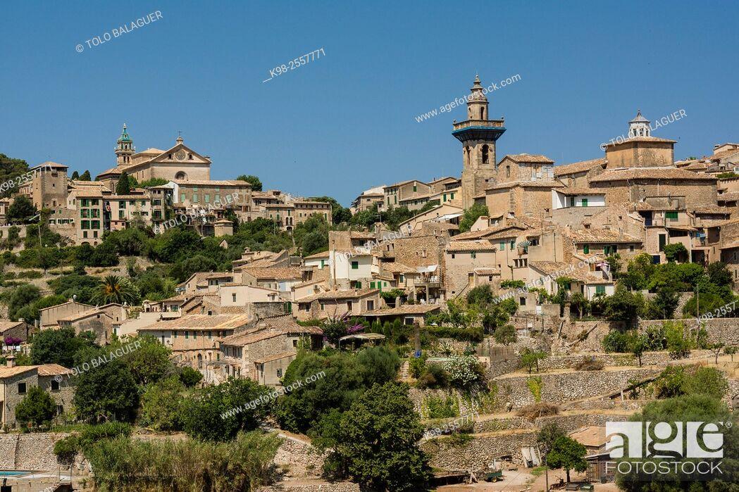 Imagen: Valldemossa, sierra de tramuntana, Majorca, Balearic Islands, Spain.