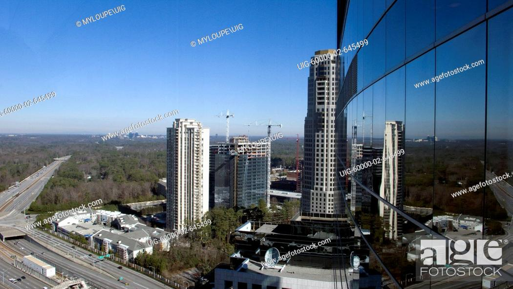 3344 Peachtree is a 50 story high-rise building of 635 feet