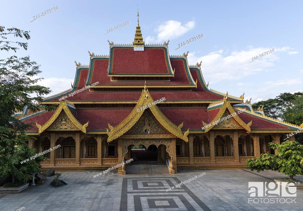 Imagen: Mengle Temple in Jinghong - Xishuangbanna capital in Yunnan.