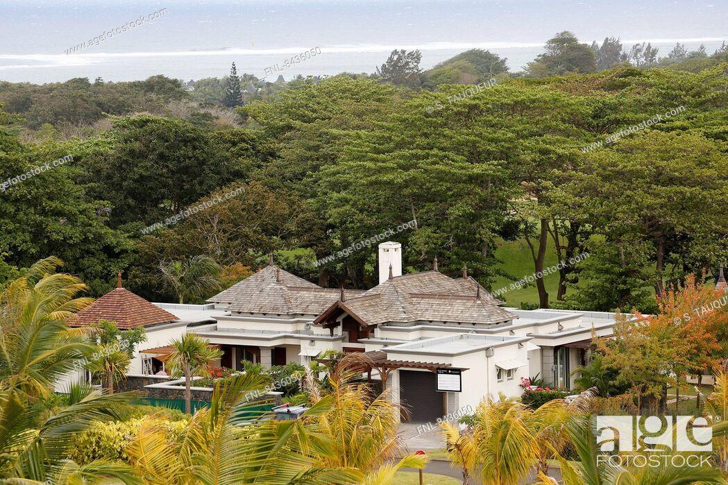 Stock Photo: Villas Valriche, Bel Ombre, Mauritius.