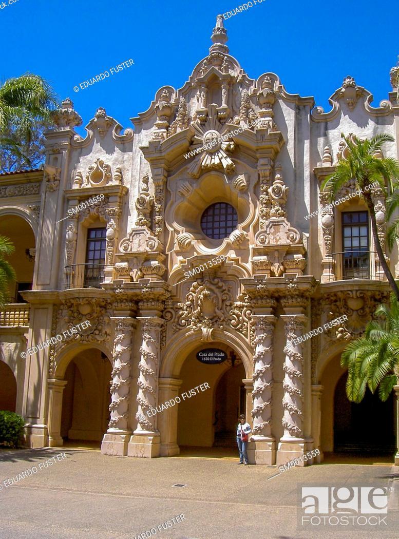 Spanish Colonial Architecture In California Usa Stock Photo