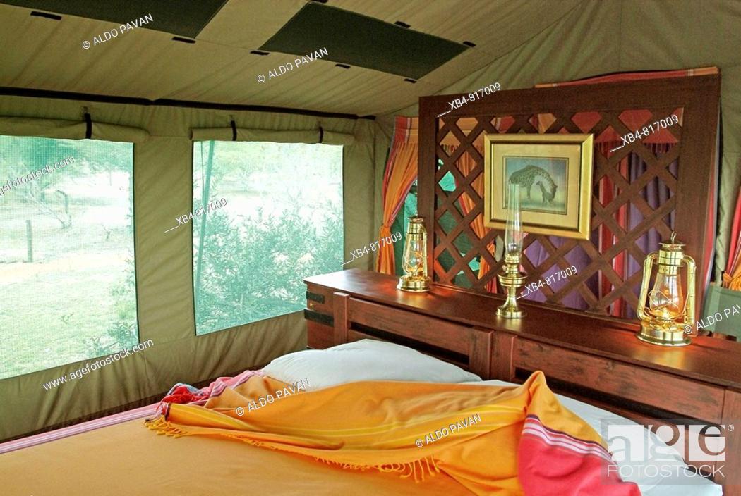 Stock Photo: Selous Impala Camp, Selous Game Reserve, Tanzania.
