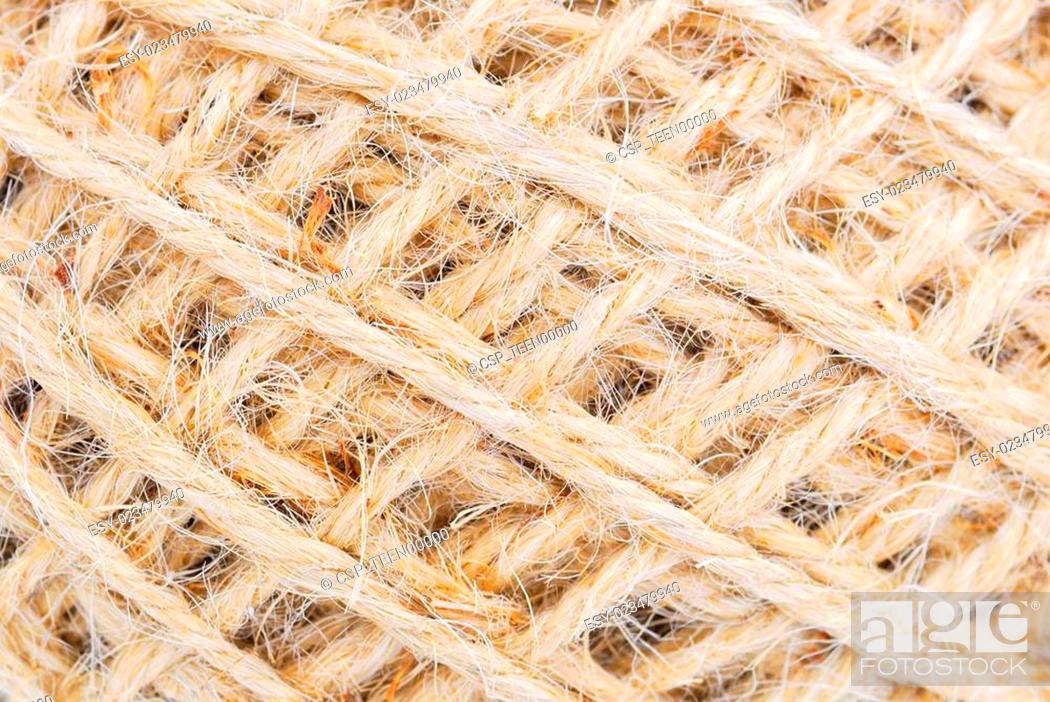 Hemp Rope Roll Gunny Texture Stock Photo Picture And Low Budget Royalty Free Image Pic Esy 023479940 Agefotostock