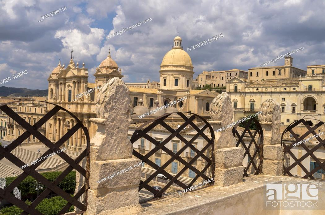 Imagen: Cathedral, Noto, Siracusa, Sicily, Italy.