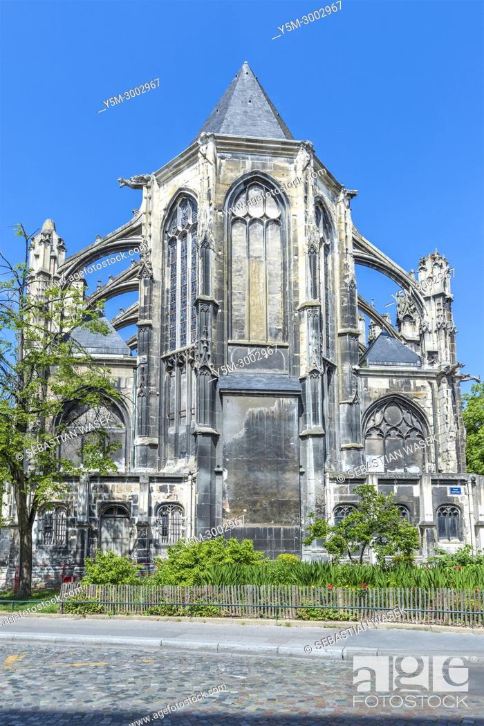 Stock Photo: Rouen, Seine-Maritime, Normandie, France, Europe.