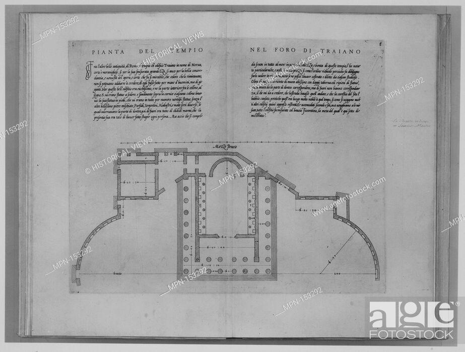 Stock Photo - Libro d'Antonio Labacco appartenente a l'architettura nel  qual si figurarano alcune notabili antiquita di Roma . Author: Written by  Antonio da ...