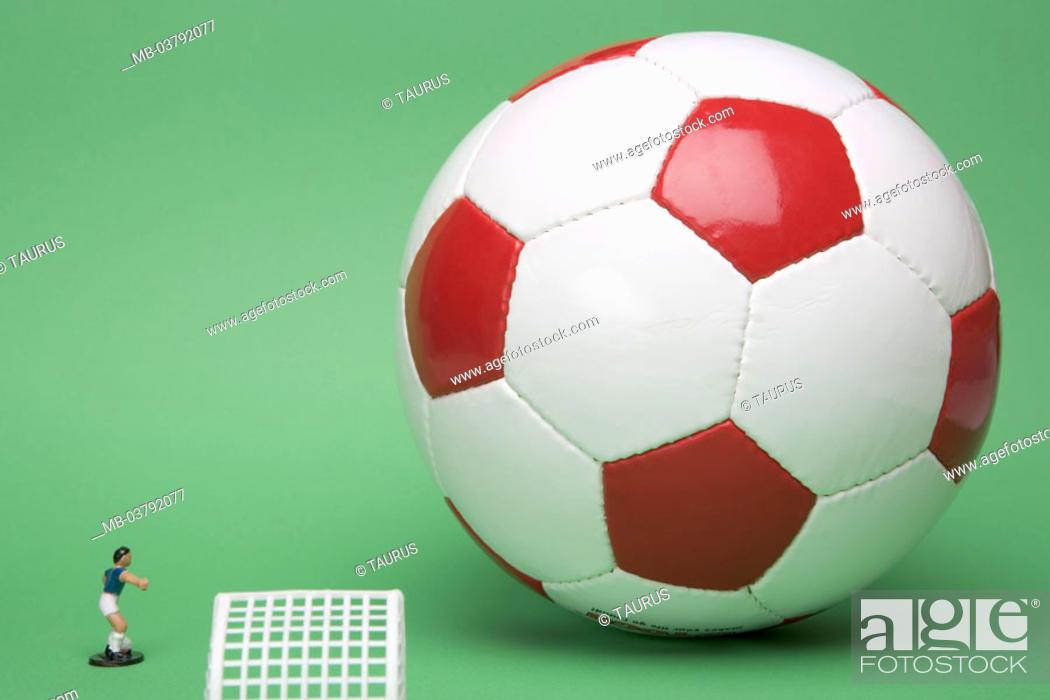 Football Toy Figure Fussballtor Truncated Series Ball