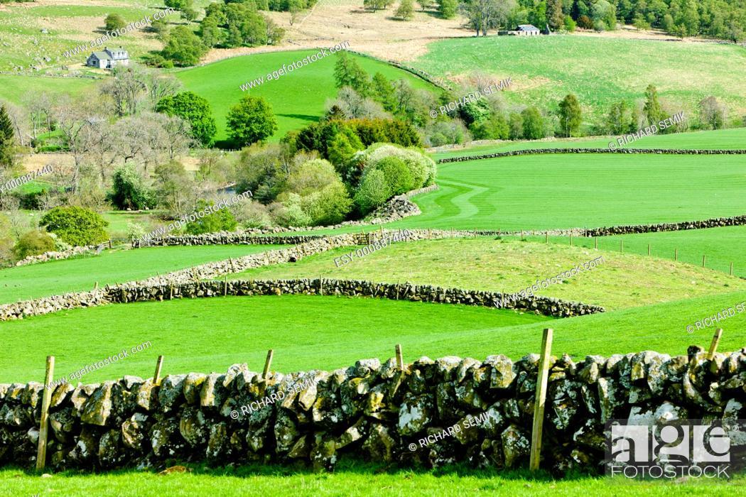 Stock Photo: Glen Shee, Highlands, Scotland.