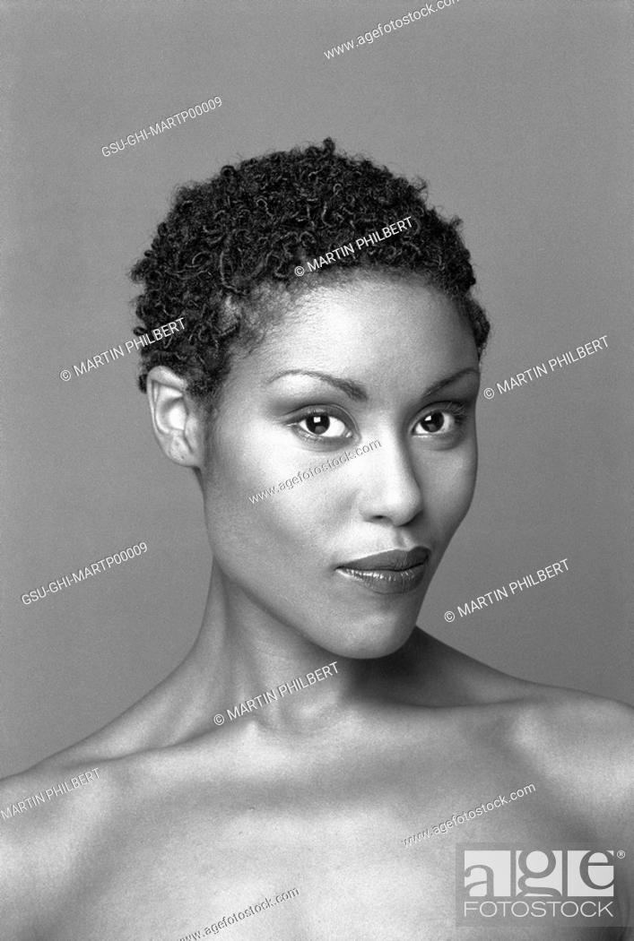 Stock Photo: woman, african american.