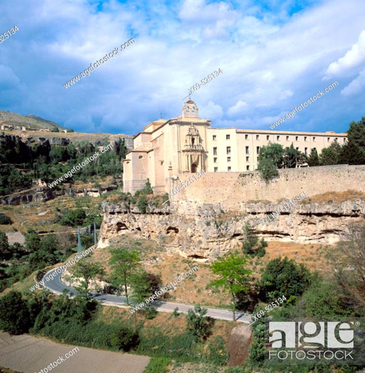 Stock Photo: Convento de San Pablo (1523), state-run hotel, Cuenca. Castilla-La Mancha, Spain.