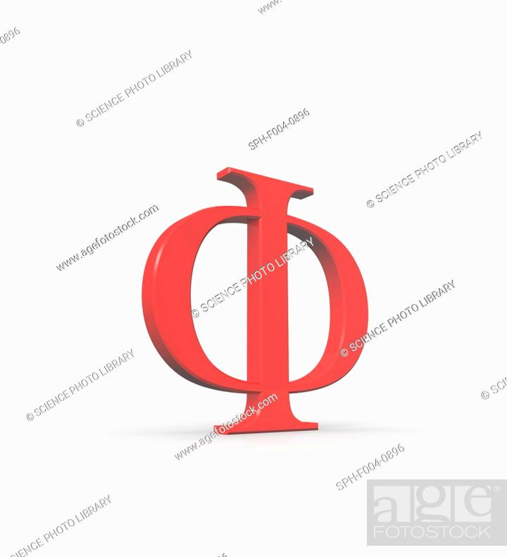 Phi is the 21st letter of the Greek alphabet. In the system of