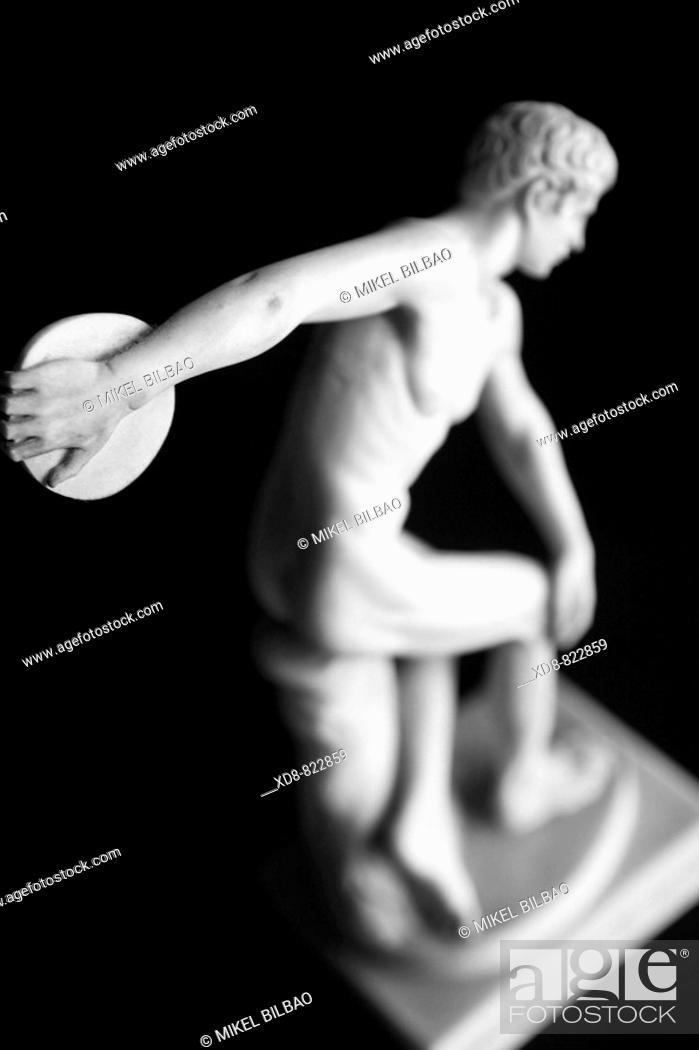 Stock Photo: Discobolos Discus-thrower.