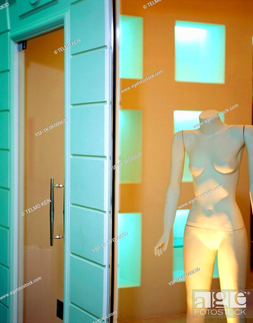 Stock Photo: Mannequin, Porto Alegre, Rio Grande do Sul, Brazil.