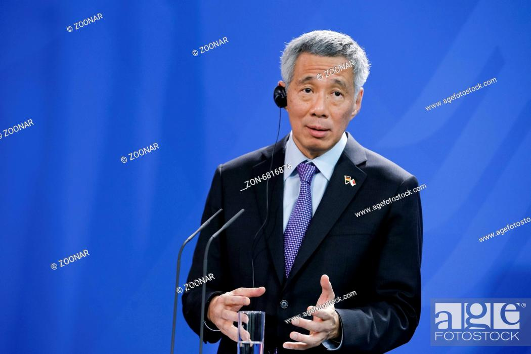 Prime Minister of Singapore Lee Hsien Loong and and the