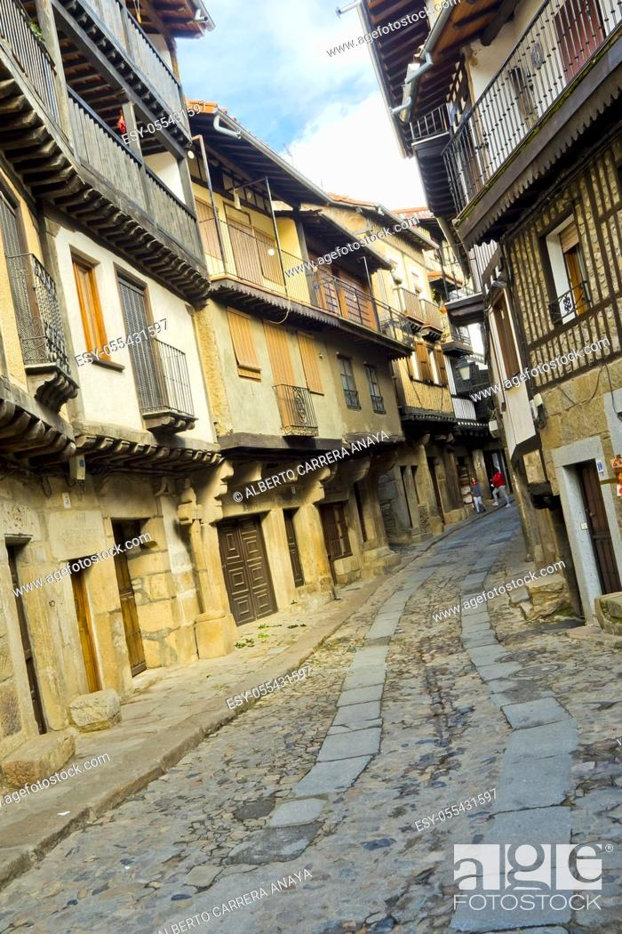 Imagen: Traditional Architecture, Medieval Town, Historic Artistic Grouping, Spanish Property of Cultural Interest, La Alberca, Salamanca, Castilla y León, Spain.