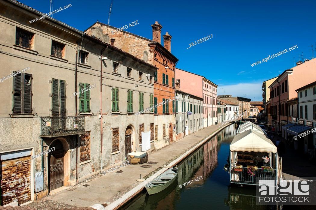 Imagen: Italy, Emilia Romagna, Comacchio.
