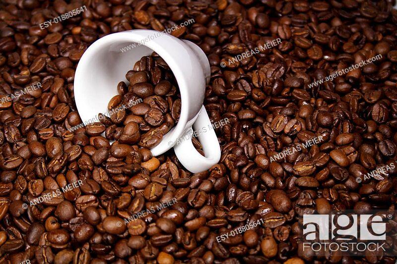 Stock Photo: einfach Kaffee.