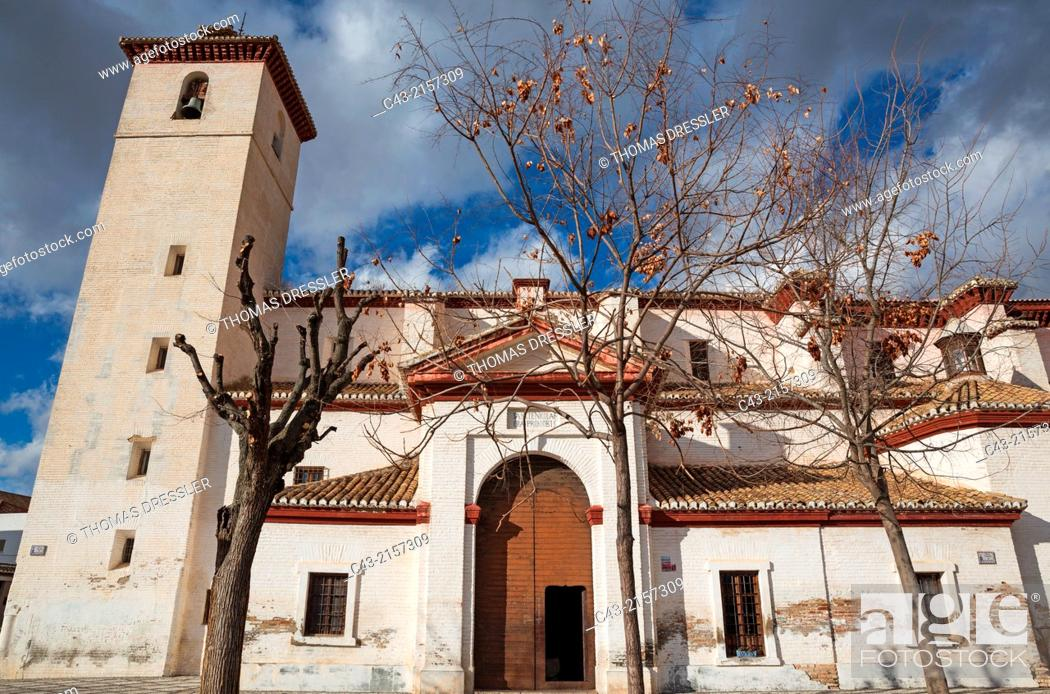 San Nicolás church in the Albaicín, Granada's characteristic Moorish