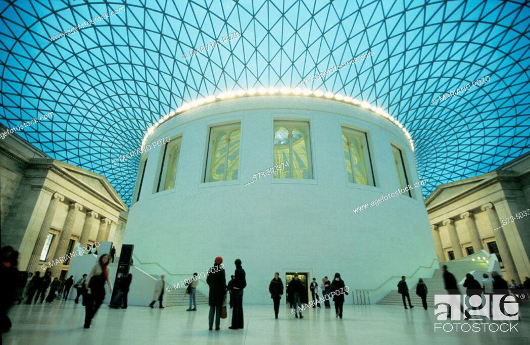 Stock Photo: British Museum. London. UK.