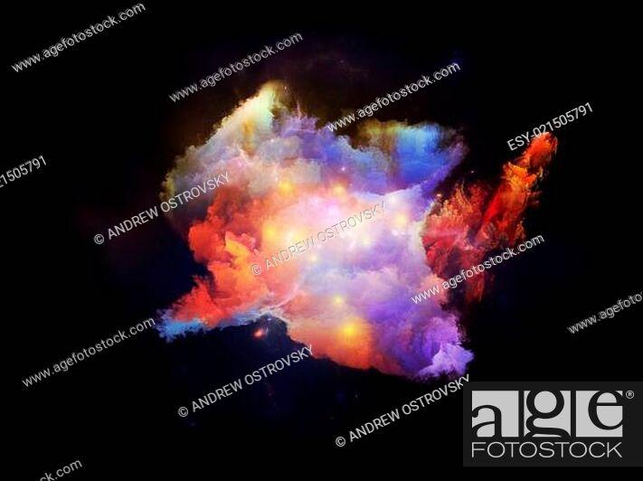 Photo de stock: Petals of Design Nebulae.