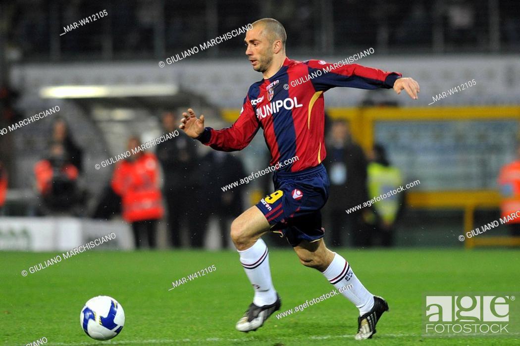 Stock Photo: marco di vaio, torino 2009, serie a football champsionship 2008-2009 , juventus-bologna.