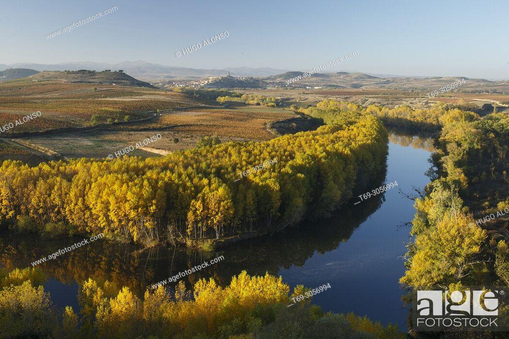Imagen: Ebro river from San Vicente de la Sonsierra. La Rioja. Spain.