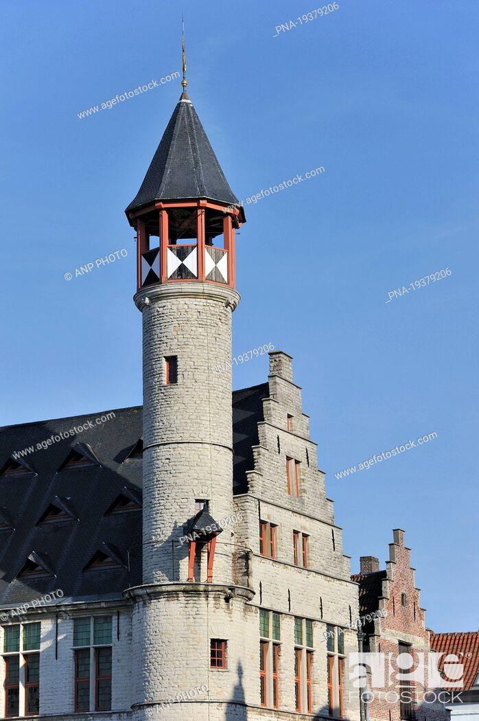 Imagen: Ghent, Scheldeland, Leiestreek, Flanders, Belgium, Europe.