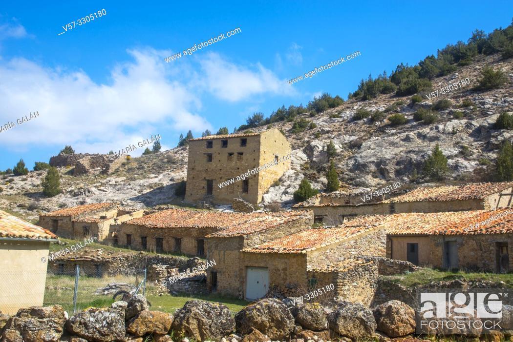 Imagen: Ruins. Chaorna, Soria province, Castilla Leon, Spain.