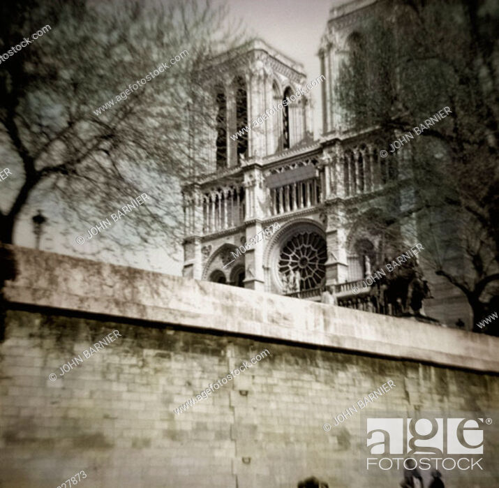 Stock Photo: Notre Dame cathedral. Paris. France.