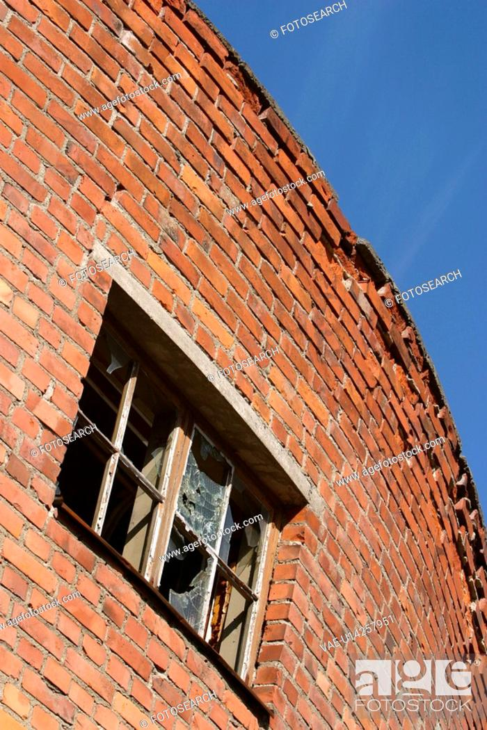 Stock Photo: wall, stone, structure, brick wall, appearance, construction.