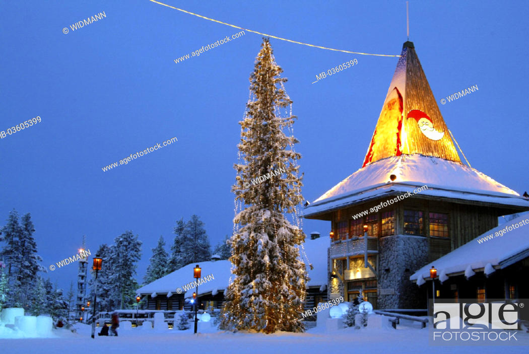 Stock Photo: Finland, Lapland, Rovaniemi.