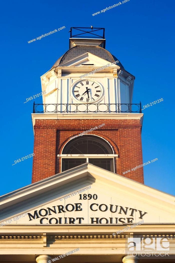 USA, Florida, Florida Keys, Key West, Monroe County Courthouse