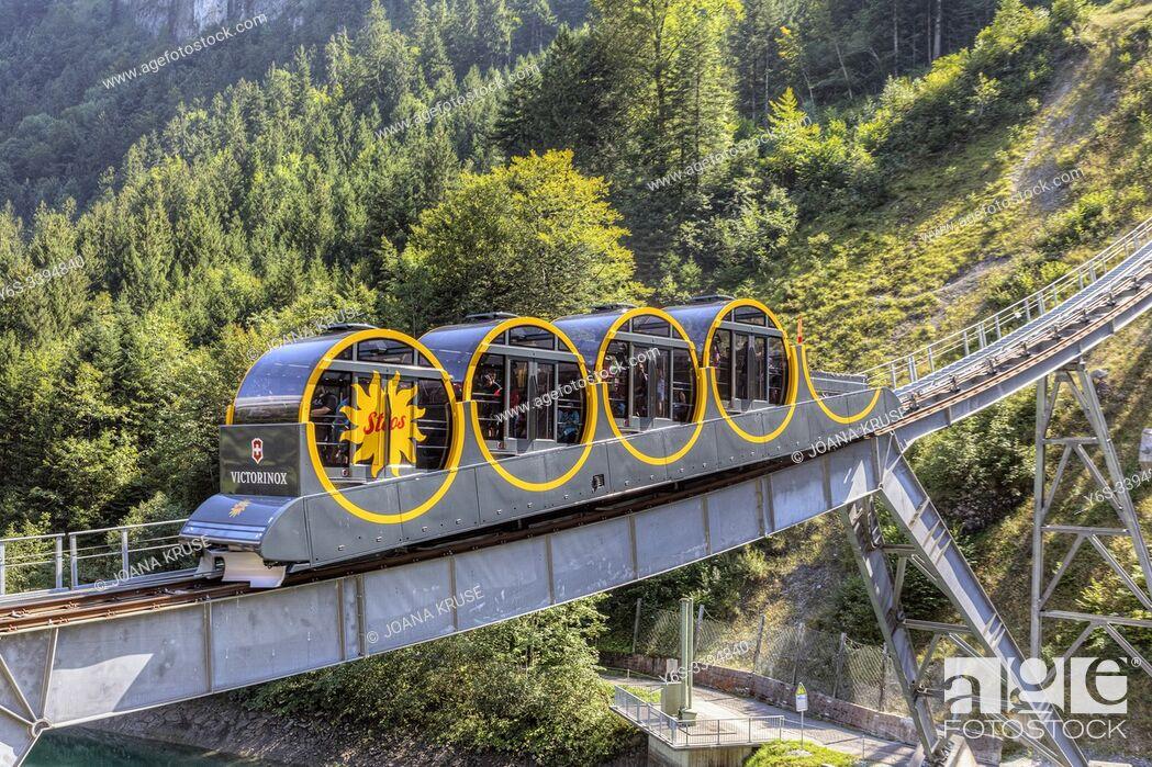 Stock Photo: Stoos, Morschach, Schwyz, Switzerland, Europe.