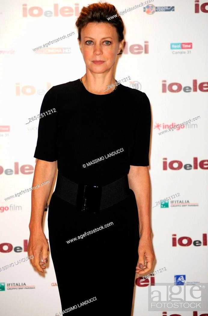 Imagen: Margherita Buy;buy ; actress; celebrities; 2015; rome; italy; event; photocall ; io e lei.