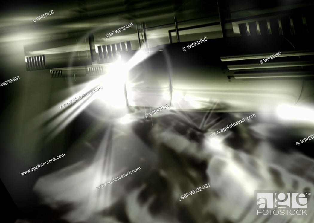 Stock Photo: Abstrato, CyberScenes, Brasil.