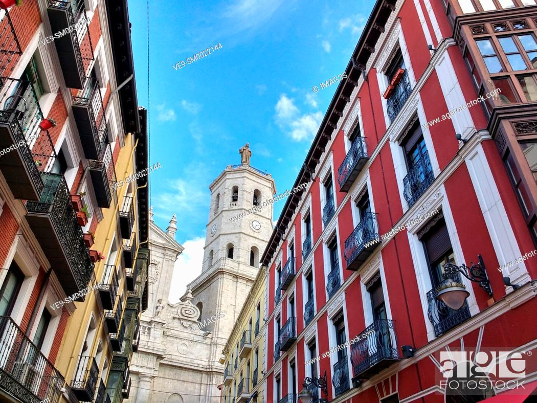 Stock Photo: Valladolid Cathedral, Castile and Leon, Spain.