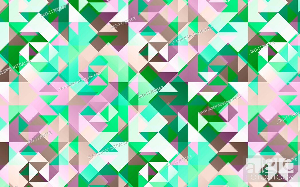Stock Photo: Abstract full frame geometric backgrounds pattern.
