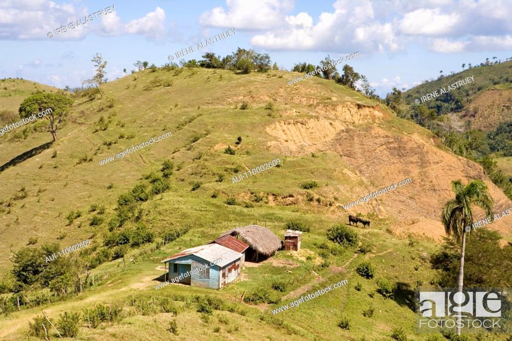 Stock Photo: Dominican Republic - Centre - Region El Pico Duarte.