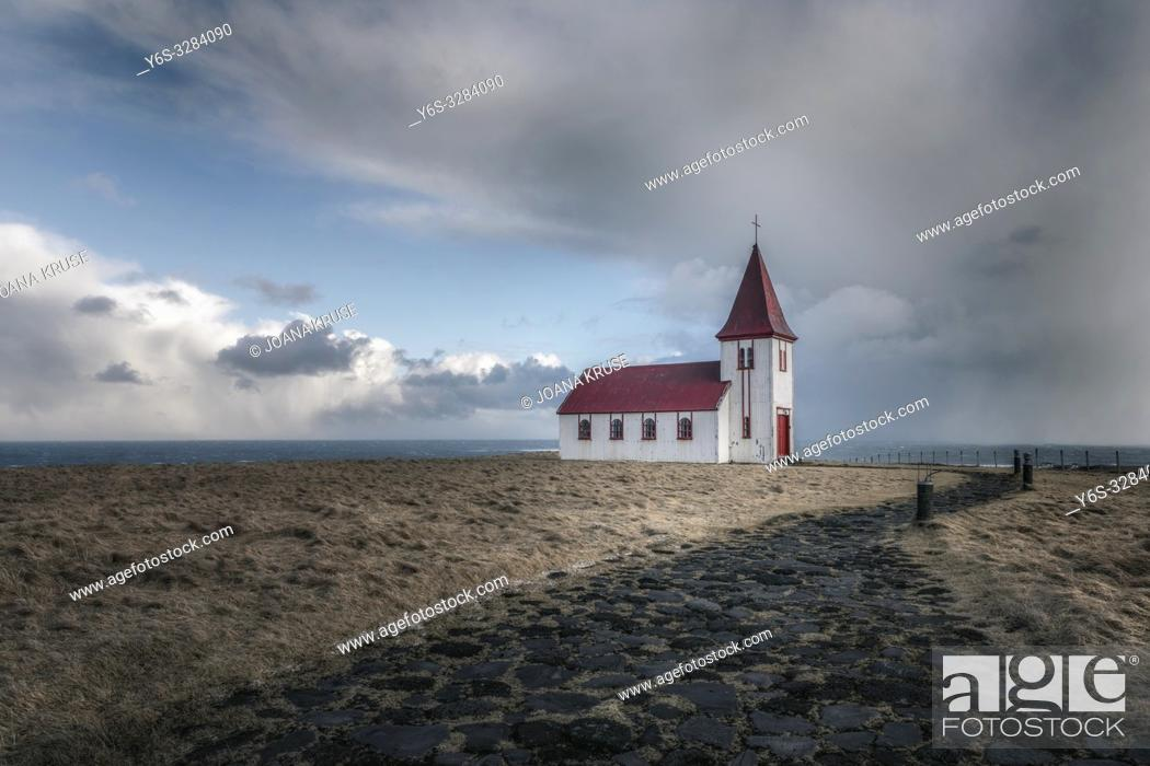 Stock Photo: Hellnar, Snaefellsnes, Iceland, Europe.