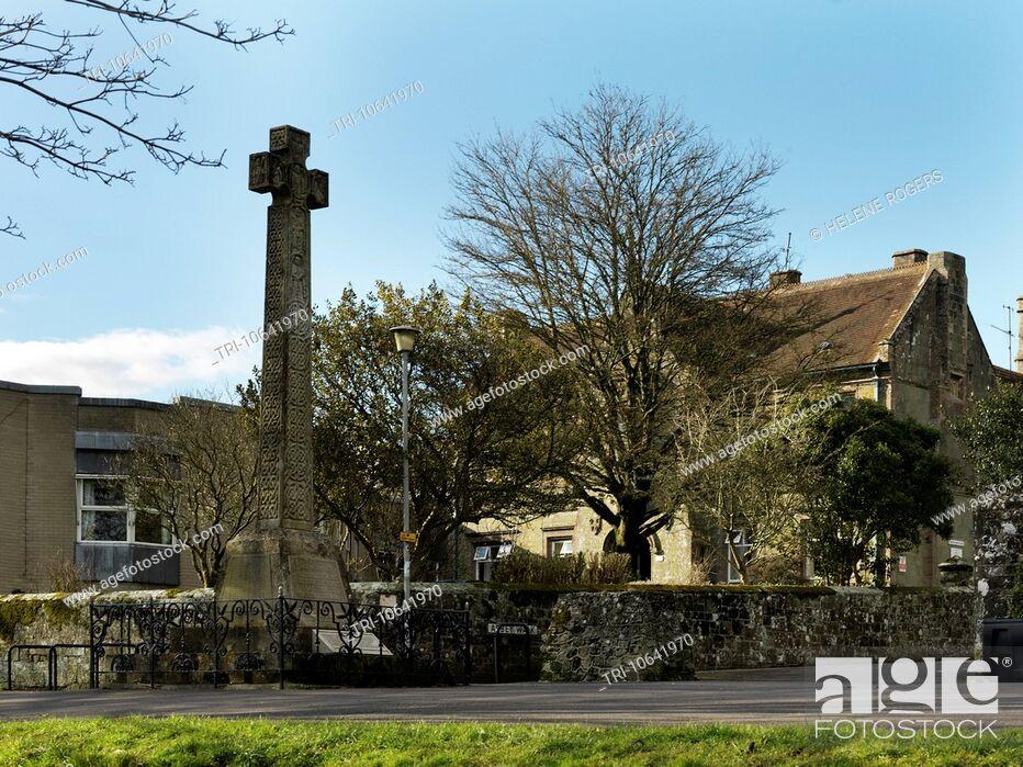Imagen: Dorset England Shaftesbury Abbey Walk World War II Cenotaph.