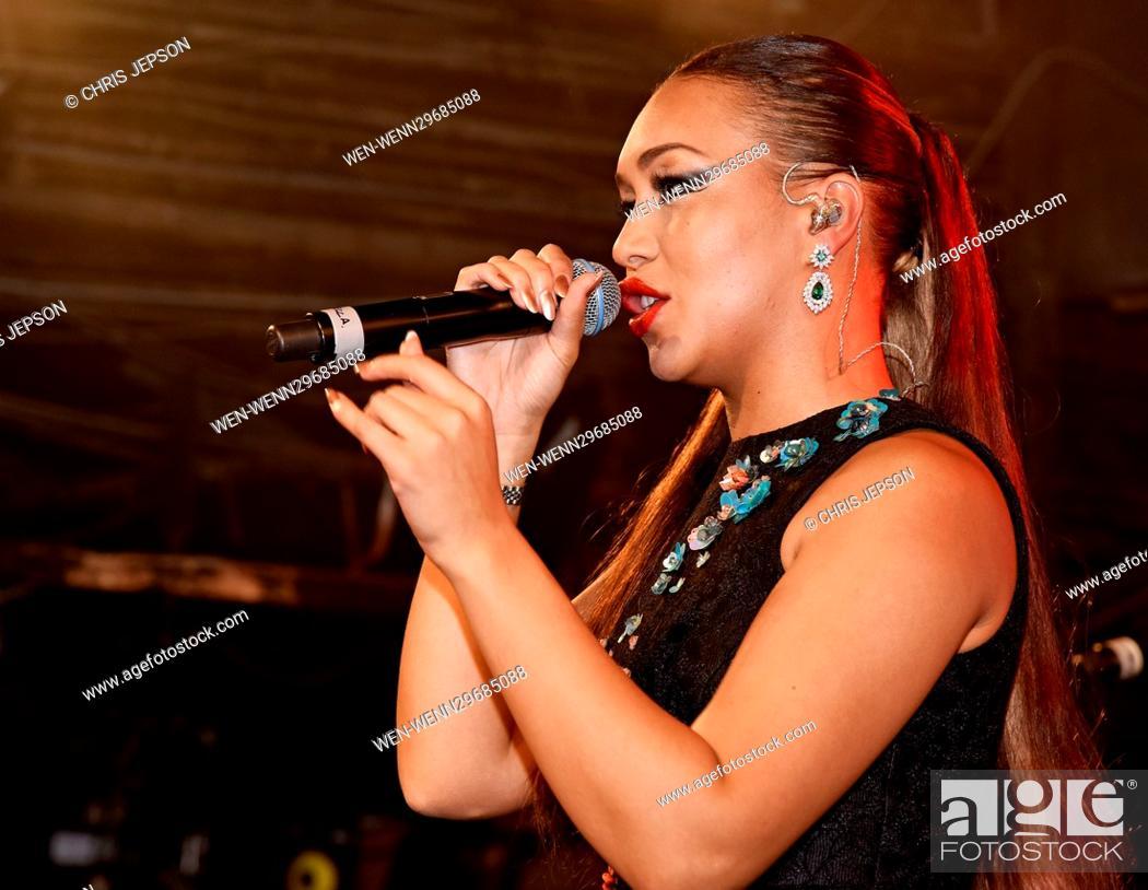 Rebecca Ferguson and Bratavio perform live at London's G-A-Y