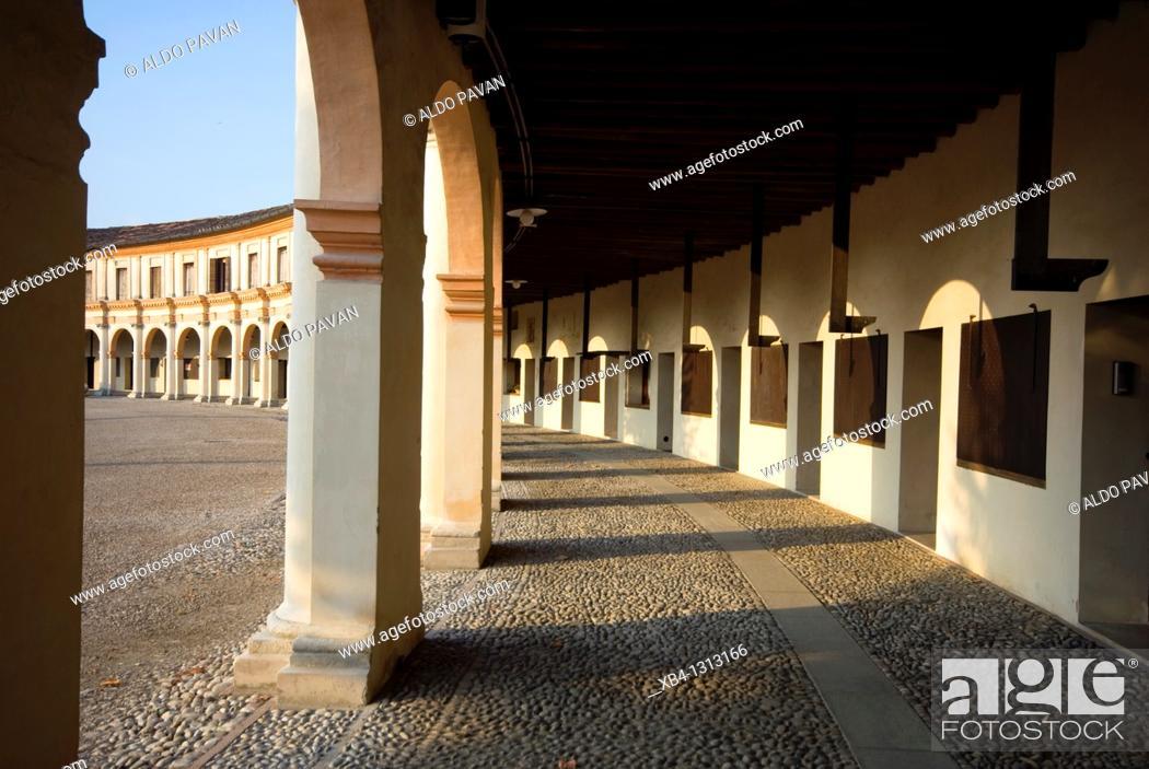 Stock Photo: Italy, Badoere, La Rotonda.