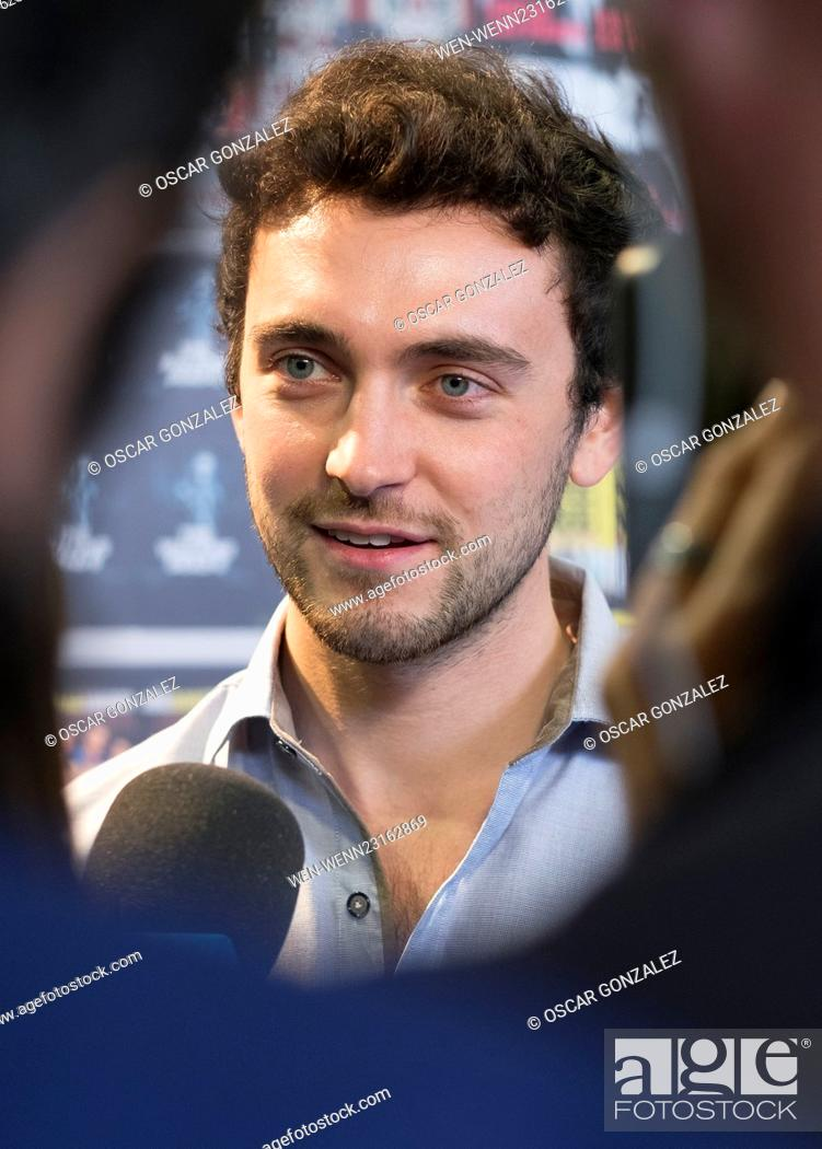 George Blagden attends 'Versailles' photocall at