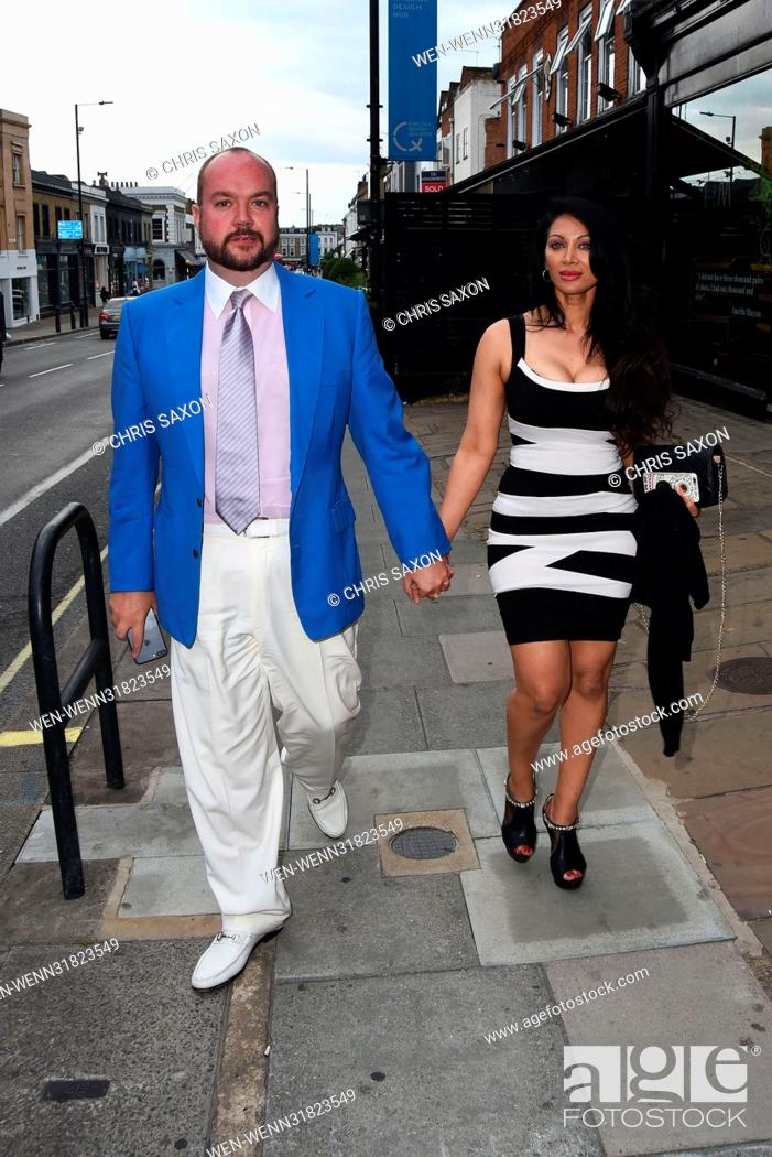 Stock Photo: Hereford Films Summer Party at the Jam Tree In the Kings Road Featuring: Janine Nerissa Broadhead, Jonathan Sothcott Where: London.