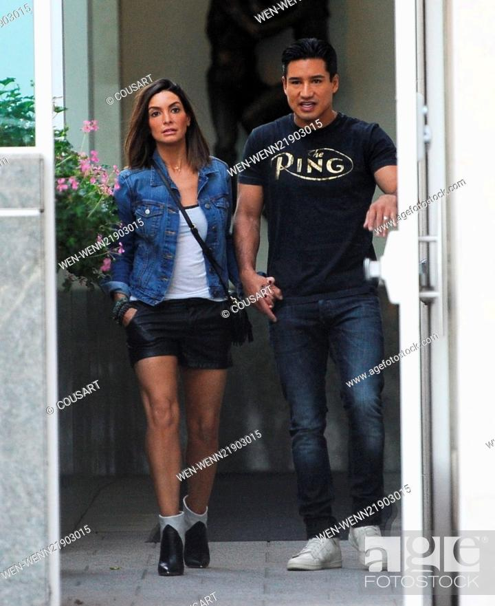 Mario Lopez Spotted Out Holding Hands With His Wife Courtney