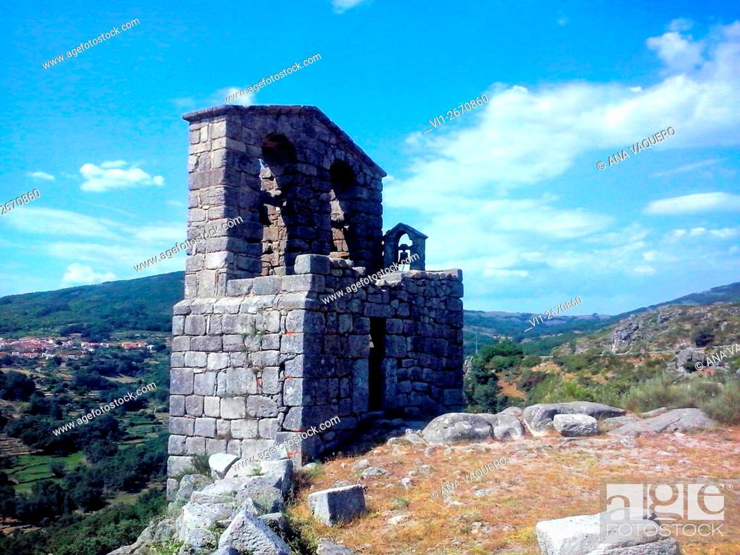 Photo de stock: San Martin de Trevejo, Cáceres, Extremadura, Spain.