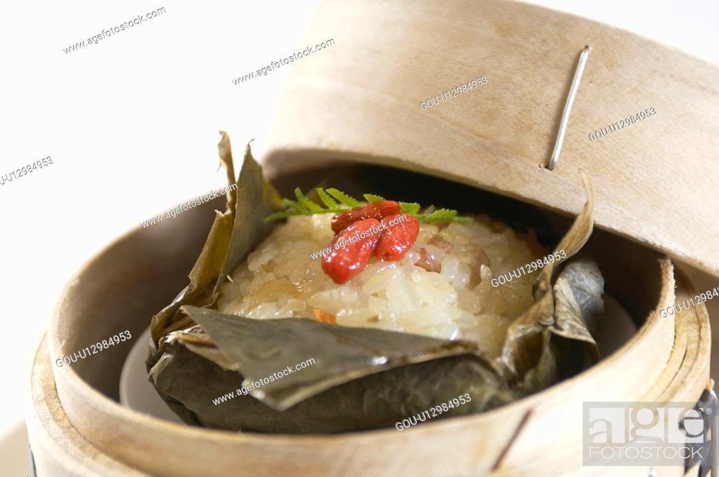 Stock Photo: Rice.